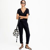 J.Crew Relaxed Jumpsuit In Tencel Linen