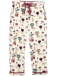 Fat Face Winsley Fly Away Print Pant Ivory