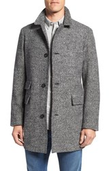 Billy Reid Men's 'Astor' Three Button Tweed Overcoat