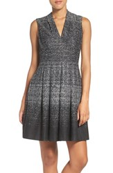 Vince Camuto Women's Jersey Knit Fit And Flare Dress
