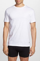 Men's Polo Ralph Lauren Classic Fit Crewneck Cotton T Shirt White