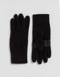Patagonia Micro D Gloves In Black Black