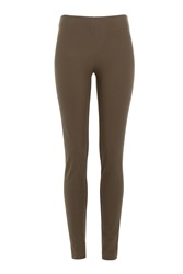 Joseph Stretch Leggings Green