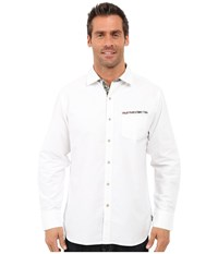 Tommy Bahama Tropic Of Oxford Woven Shirt White Men's Clothing