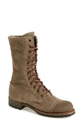 Women's Vintage Shoe Company 'Molly' Boot Grey Suede