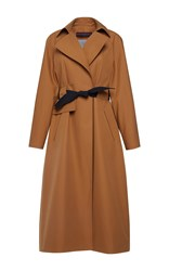 Martin Grant Belted Trench Brown