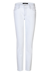 J Brand Bleached Slouchy Skinny Jeans
