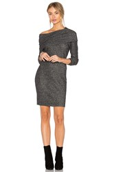 Lna Brenda Scarf Dress Gray