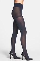 Women's Dkny Opaque Control Top Tights Royal Navy