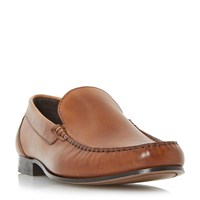 Roland Cartier Racer Moccasin Loafers Tan