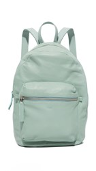 Baggu Leather Backpack Sea Glass