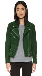 Veda Jayne Suede Jacket Bottle Green