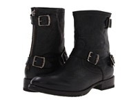 Frye Dean Zip Short Black Hammered Full Grain Men's Zip Boots