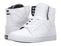 Supra Skytop White Leather Women's Skate Shoes
