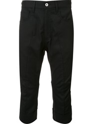 Junya Watanabe Comme Des Garcons Man Tapered Short Trousers Black