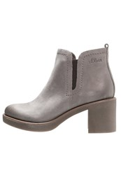 S.Oliver Ankle Boots Cigar Grey