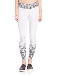 Koral The Day After Yesterland Pixelate Cropped Leggings