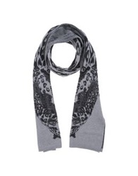Just Cavalli Oblong Scarves Lead