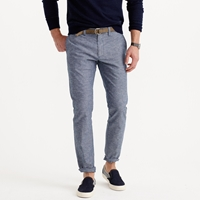 J.Crew Flecked Chambray Chino In 484 Fit