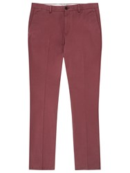 Reiss Bennett Chinos Rose