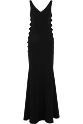 Moschino Cheap And Chic Stretch Crepe Maxi Dress