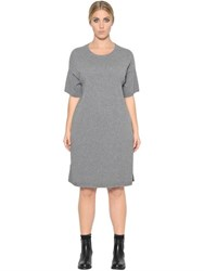 Marina Rinaldi Short Sleeve Cashmere Blend Knit Dress