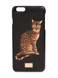 Dolce And Gabbana Cat Printed Dauphine Iphone 6 Plus Case