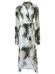 Adriana Degreas Beach Cover Up White