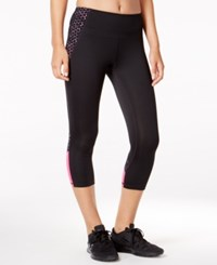 Ideology Cropped Leggings Only At Macy's Noir