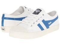 Gola Coaster Off White Ocean Blue Women's Shoes Khaki