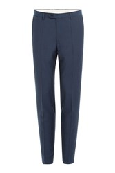 Baldessarini Virgin Wool Pants Blue