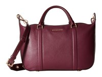 Michael Michael Kors Raven Lg Satchel Plum Satchel Handbags Purple