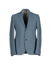 Brian Dales Suits And Jackets Blazers Men Azure