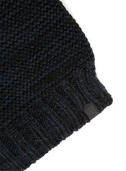Selected Blue Homme Navy Woven Scarf