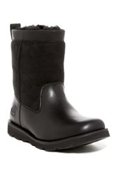 Ugg Wrangell Genuine Sheepskin Waterproof Boot Black
