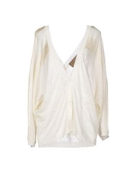 Space Style Concept Cardigans Ivory