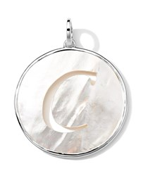 Sterling Silver Lollipop Letter Charm Mother Of Pearl Doublet Ippolita