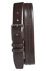 Mezlan 'Perseo' Leather Belt Brown
