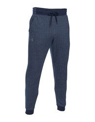Under Armour Ua Rival Fleece Patterned Jogger Pants Midnight Navy