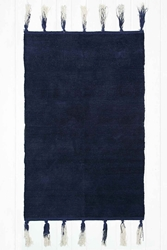 Ombre Tassel 3X5 Rug In Navy Urban Outfitters