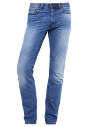 United Colors Of Benetton Straight Leg Jeans Light Blue Light Blue Denim