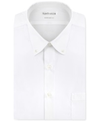 Van Heusen Big And Tall Easy Care Pinpoint Oxford Dress Shirt White