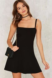Flare To Explain Mini Dress Black