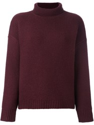 Vince Chunky Knit Jumper Brown