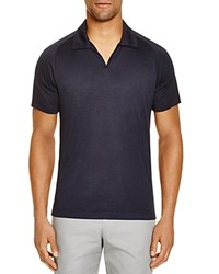 The Men's Store At Bloomingdale's Jersey Regular Fit Polo Shirt Navy Black