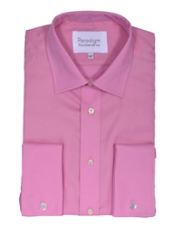 Double Two Long Sleeve Shirt Light Pink