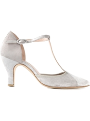 Repetto T Bar Pumps Grey
