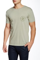 Quiksilver Unidentified Modern Fit Graphic Tee Green