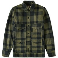 Filson Seattle Fit Mackinaw Cruiser Jacket Green