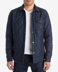 Quiksilver Men's Marbling Jacket Navy